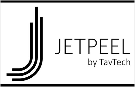 JetPeel Logo BW