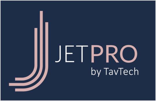 JetPro Logo – White