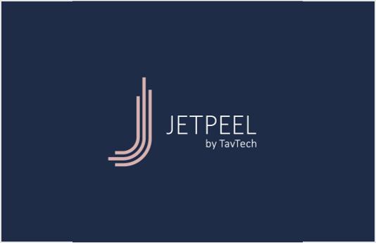 JetPeel blue Logo