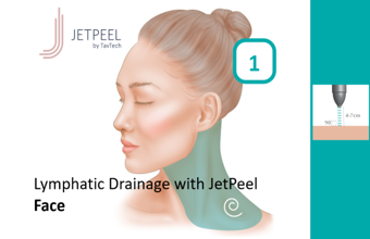 Lymphatic Drainage with JetPeel – Face