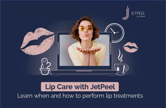 Lip Care with JetPeel